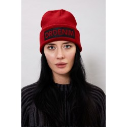 BO BEANIE RED By DRDENIM