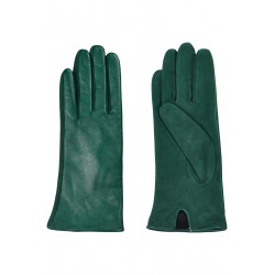 GREEN LEATHER GLOBES