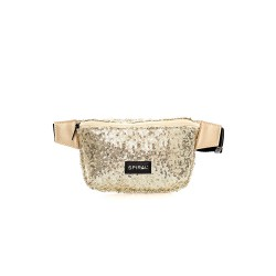 GOLD SEQUINS BUM BAG