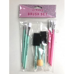 13 PC BRUSH SET