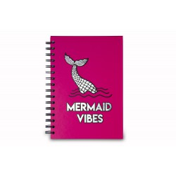 MERMAID VIBES NOTEBOOK