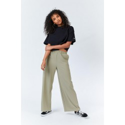 GREEN AGATE BELL TROUSERS...