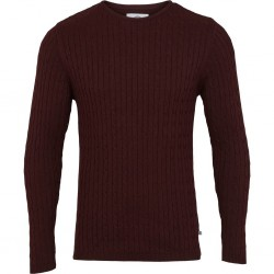 BORDEAUX CABLE KNIT KRONSTADT