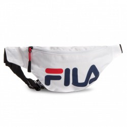 WHITE FILA BUM BAG