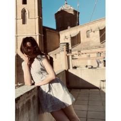 OFFWHITE DRESS SEEUSOON