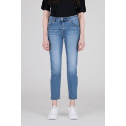 Edie Shaded Mid Blue Dr. Denim