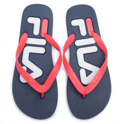 FILA BLUE RED SLIPPERS