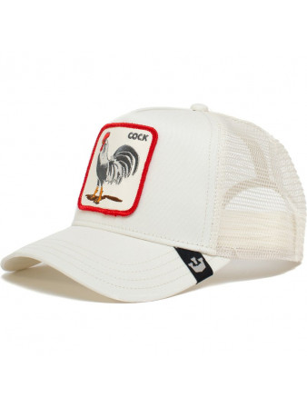 ROOSTER WHITE GOORIN BROS CAP